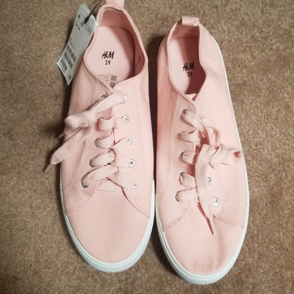 H\u0026M Shoes | New Pastel Pink And White